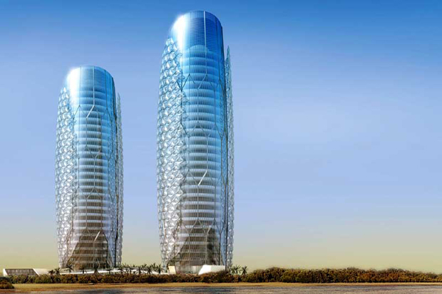 Al Bahar Towers, Abu Dhabi