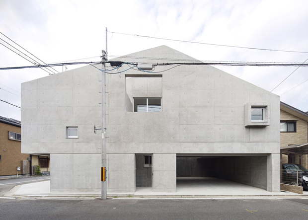 House in Kitaoji, Kyoto - Torafu Architects