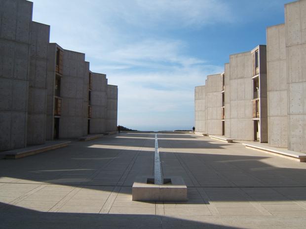 Louis I. Khan's The Salk Institute - featured in the wonderful book Concrete
