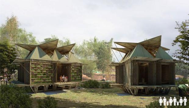 H&P Architects' flood housing