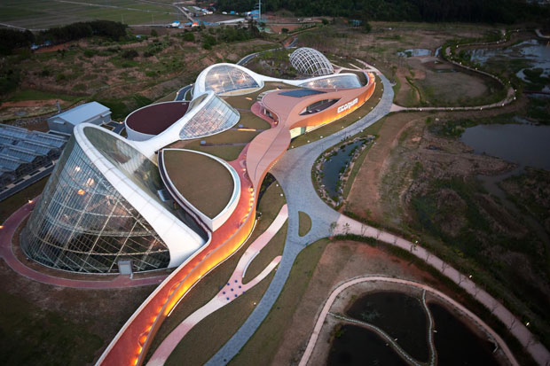 Ecorium, The National Ecology Centre, Seocheon - Grimshaw in collaboration with Samoo