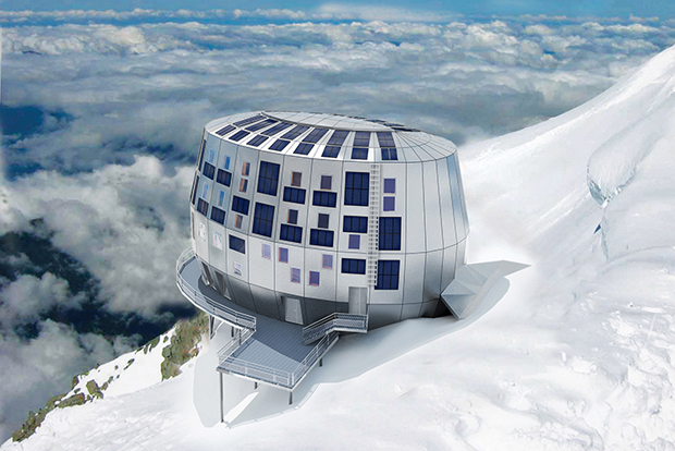 Refuge du Goûter, Mont Blanc - Group-H