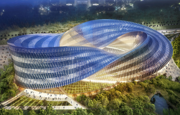 Swallow's Nest concept, Taichung, Taiwan - Vincent Callebaut