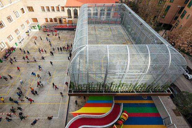 Lasalle Franciscanas School in Zaragoza, Spain - J1 Arquitectos