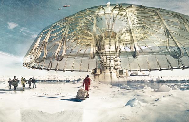 Polar Umbrella - Derek Pirozzi