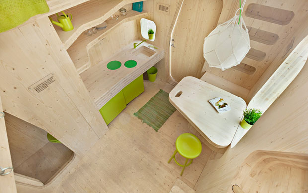 Smart Student Flat - Tengbom Architects
