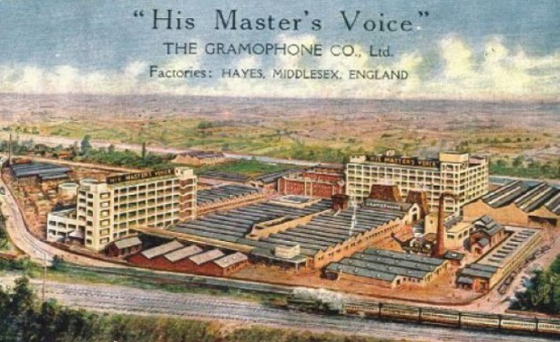 Promotional material for EMI's Hayes plant, now reborn as the Old Vinyl Factory