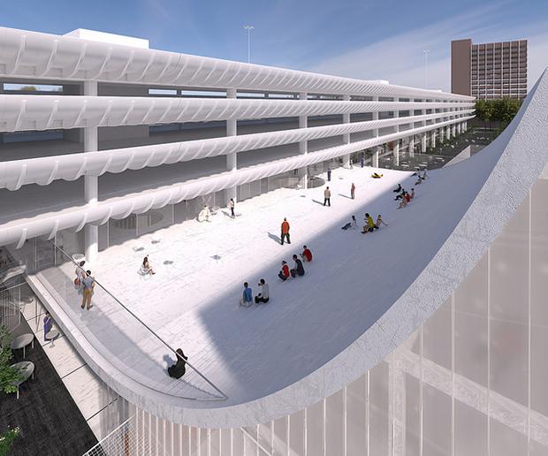 Design One for Preston Bus Station