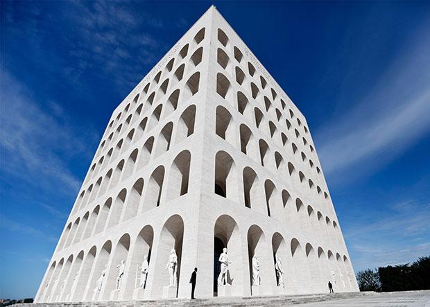 Palazzo della Civiltà Italiana - renovation by Marco Costanzi