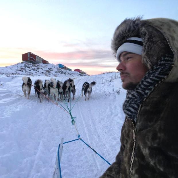 Bjarke Ingels in Greenland, 2016. Image courtesy of Bjarke Ingels' Instagram