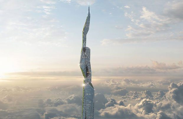 Arconic claims that the tower could be built from materials that are either already available or are in development