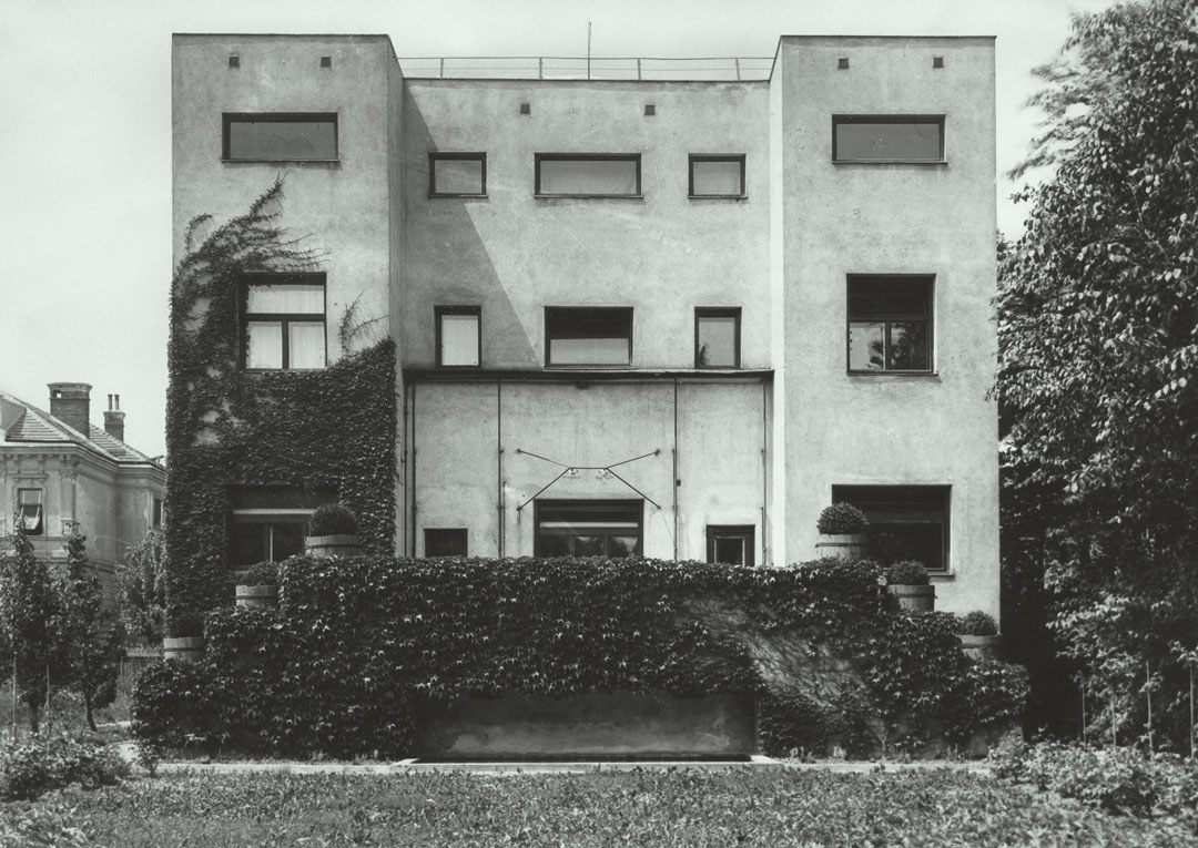 Steiner House, Vienna, Austria, 1910 by Adolf Loos. From Ornament is Crime