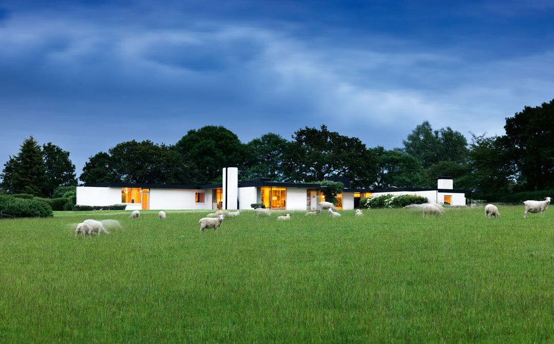 White Fox Lodge, John Schwerdt, Udimore, Rye, East Sussex, England (UK), 1965