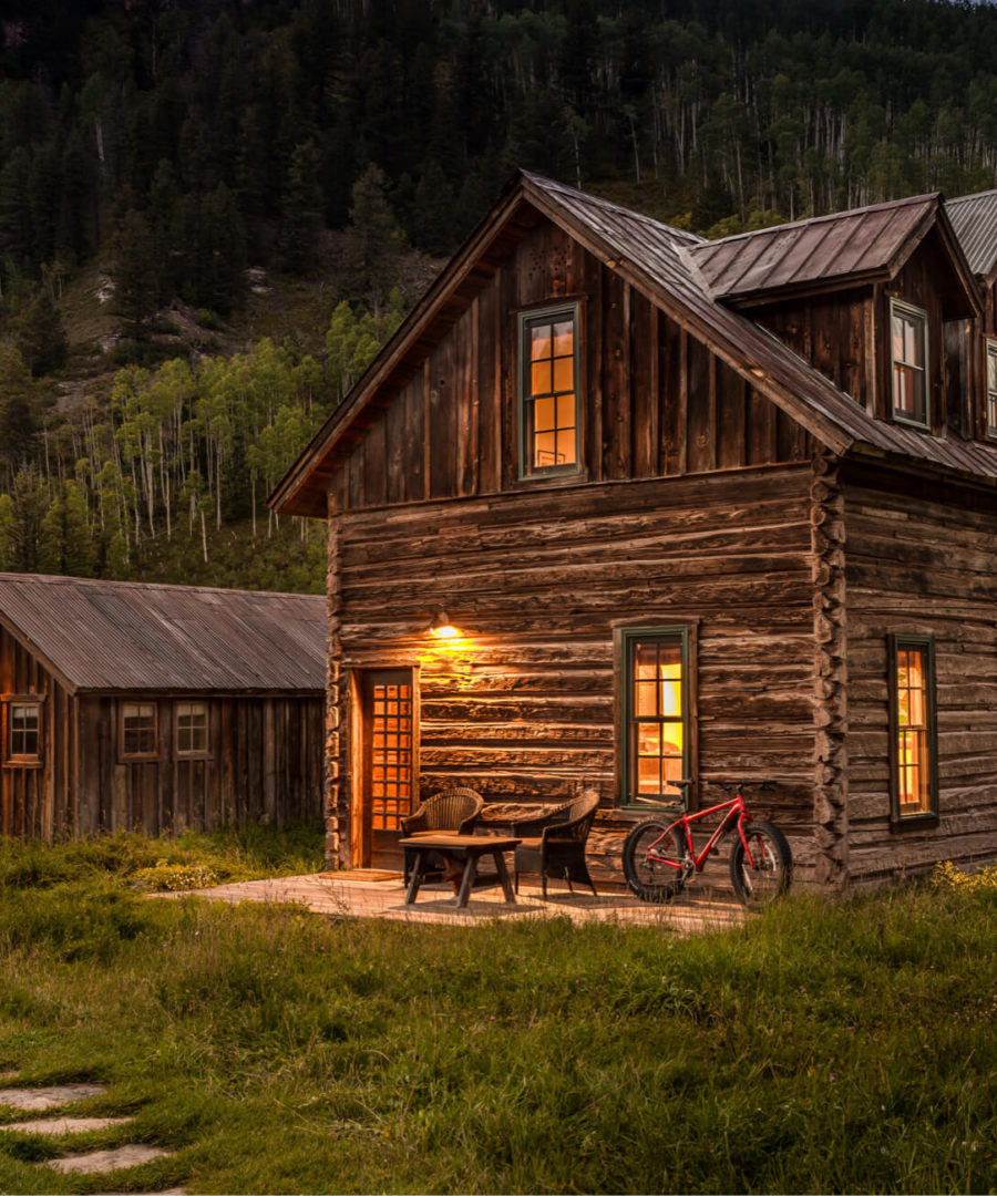 Dunton Hot Springs, Colorado, USA. All images courtesy of the hotels
