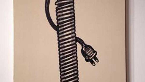 Roy Lichtenstein - Electric Cord