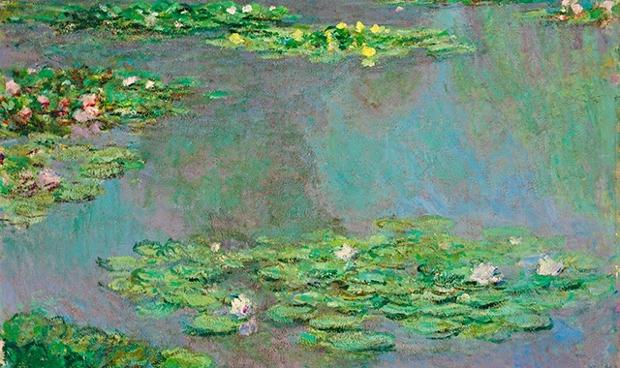 Claude Monet's Nymphéas (1905) sold for $43,762,500 (£27,570,375)