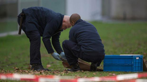 The Kunsthal crime scene, October 2012