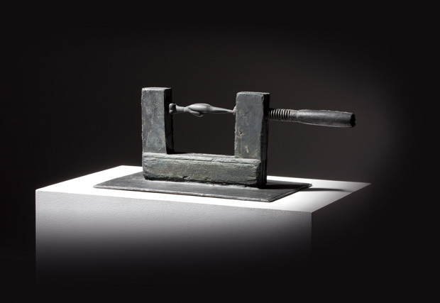 Bett (1950) by Joseph Beuys, from Joseph Beuys Revealed, at Sotheby's new Sǀ2 gallery in London