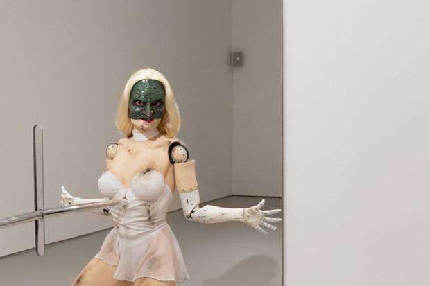 (Female figure) (2014) by Jordan Wolfson