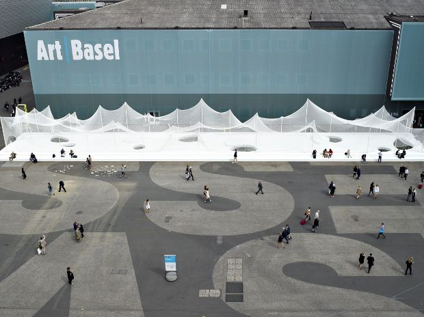 View from the top - Art Basel 2014