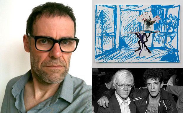 Dexter Dalwood (top left), Half Moon Street (20140 Dexter Dalwood (top right), Andy Warhol and Lou Reed (bottom left)