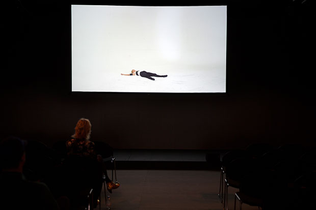 Baby I Got Better Things To Be Doing With My Time, (2014) by Cally Spooner, at Frieze Film, London