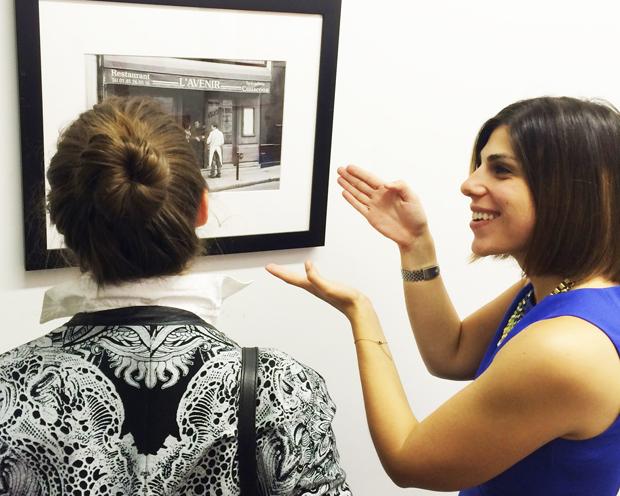 Cristina Salmastrelli, the director of the Affordable Art Fair New York City