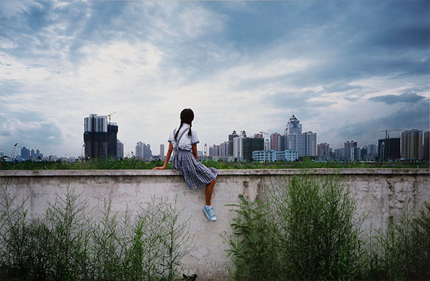 On The Wall Shenzhen (2002) - Weng Fen image courtesy of the artist
