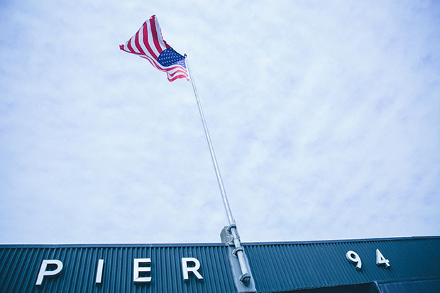 The Armory's Pier 94. Image courtesy of Roberto Chamorro for The Armory Show