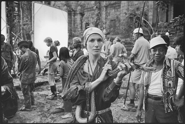 Mary Ellen Mark on the set of Apocalypse Now (1979)