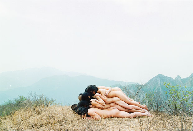 To Add One Meter To An Anonymous Mountain 1995 - Zhang Huan  Performance Mentougou District, Beijing