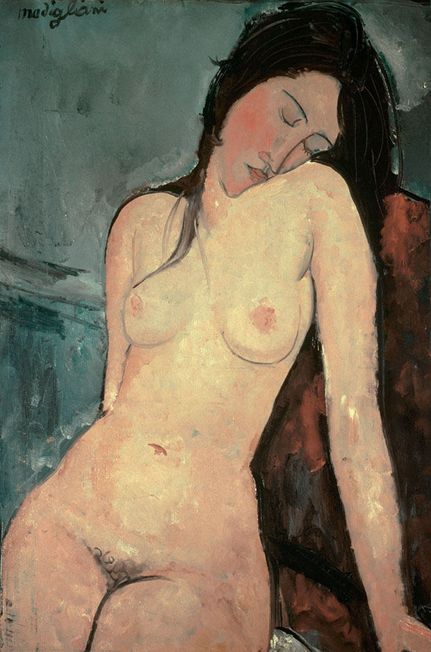 Nude 1916 - Amedeo Modigliani