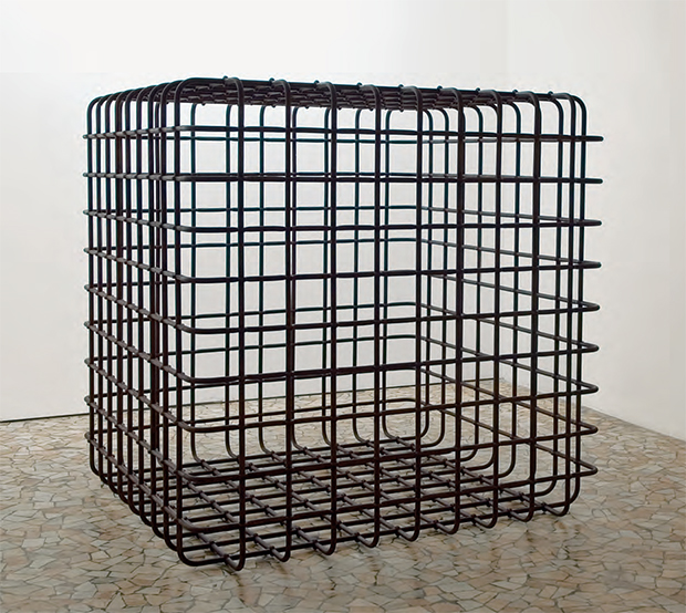 Cube (2006) by Mona Hatoum. As reproduced in our new Contemporary Artist Series book