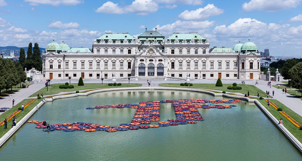F Lotus by Ai Weiwei. Image courtesy of 21er Haus