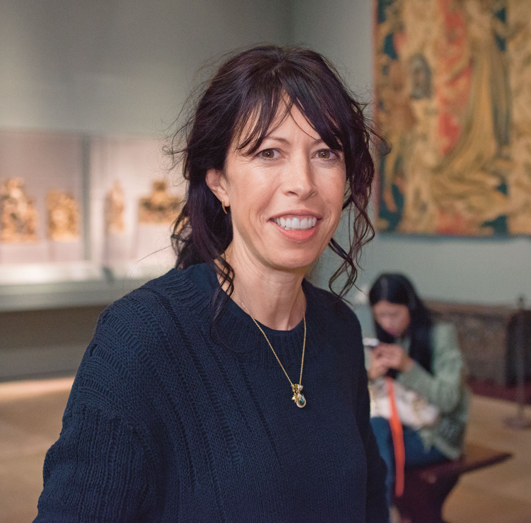 Cecily Brown, as featured in The Artist Project. Photo by Jackie Neale/Kathryn Hurni © The Met