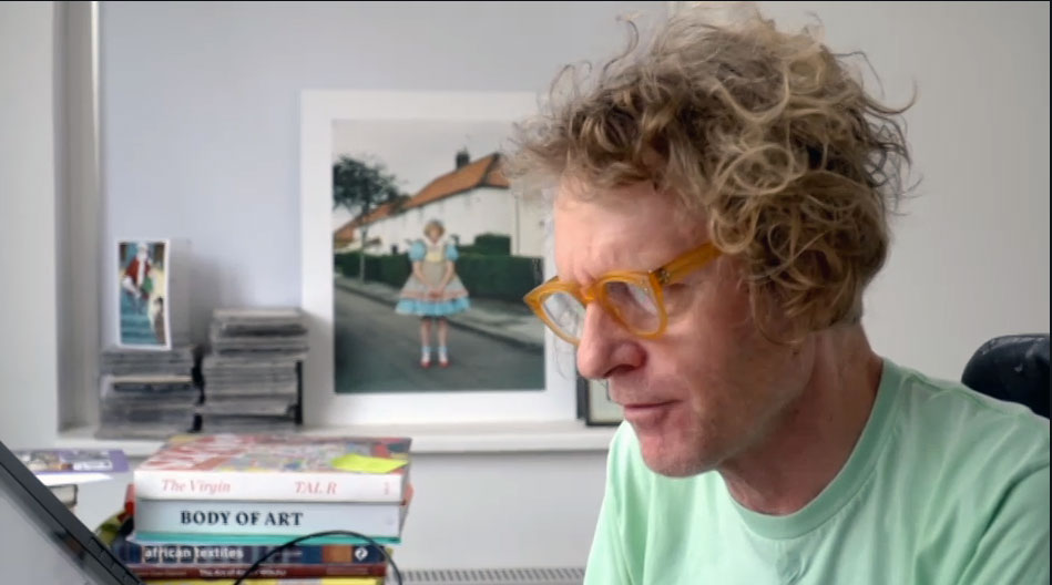 Grayson Perry on Channel 4 last night with our books Body of Art and Map