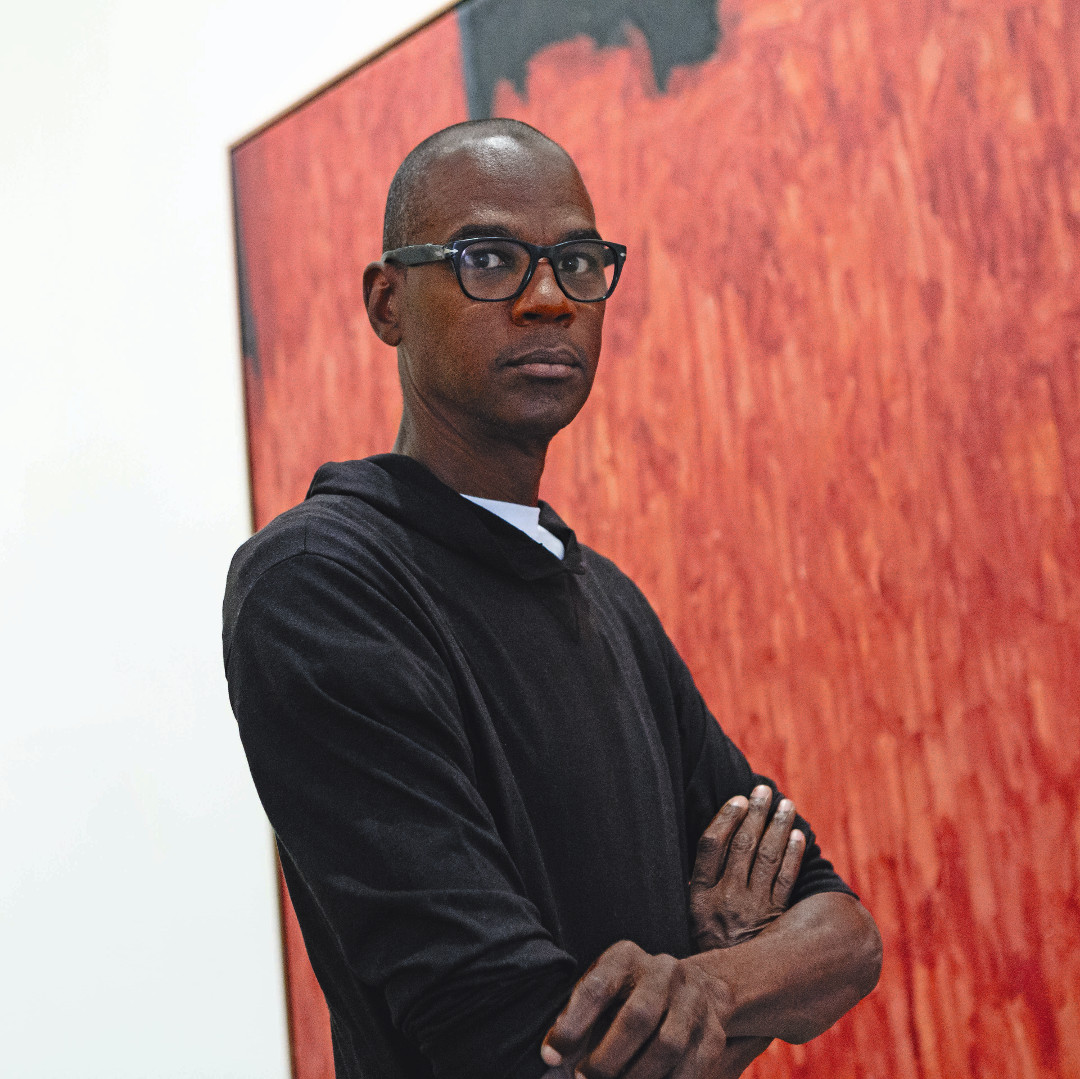 Mark Bradford. As reproduced in The Artist Project. Photo by Jackie Neale/Kathryn Hurni © The Met