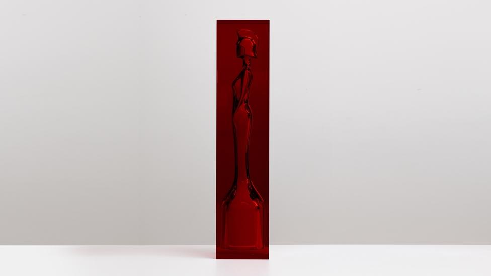 Anish Kapoor's Brit Award; image courtesy of the Brits