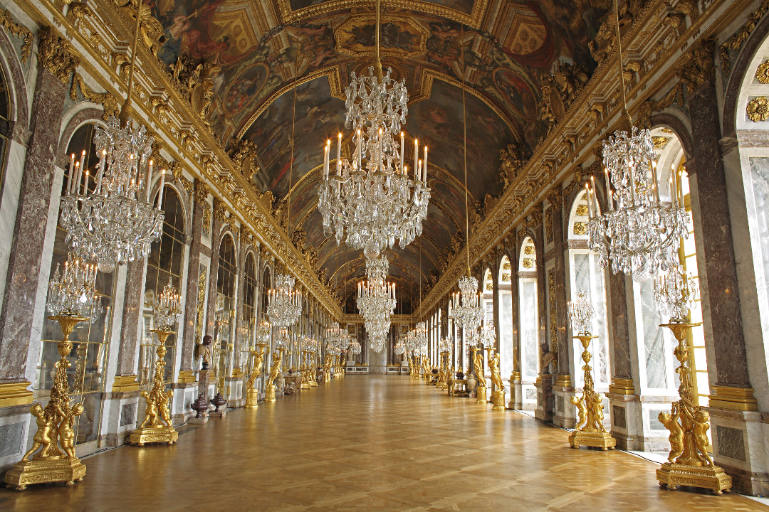 Galerie des Glaces, 1678–84, by Jules Hardouin Mansart and Charles Le Brun, as reproduced in The Art Museum