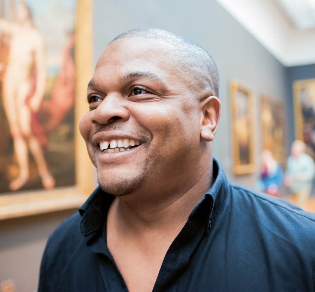 Kehinde Wiley in The Artist Project