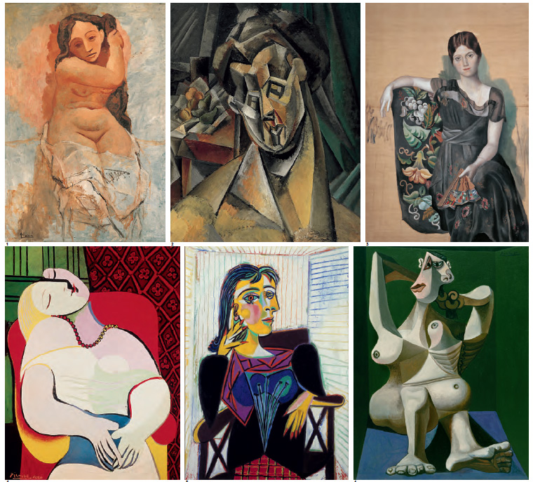 Picasso's Women in The Art Museum