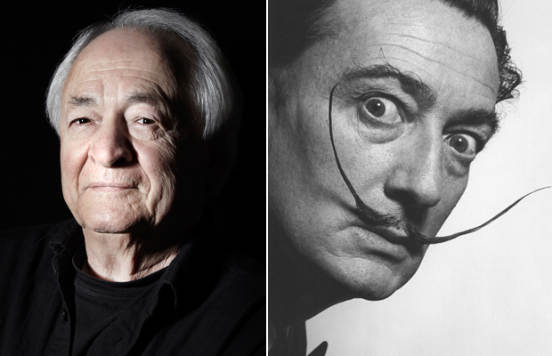 Pierre Dinand by Damien Fry (2011), Salvador Dalí in 1954
