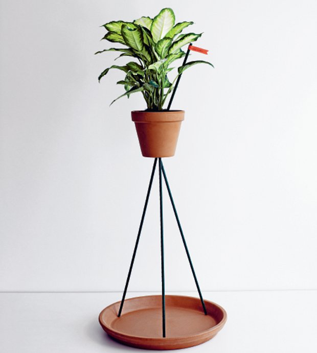 Flowerpot Stand by Sam Hecht. As featured in Do It Yourself