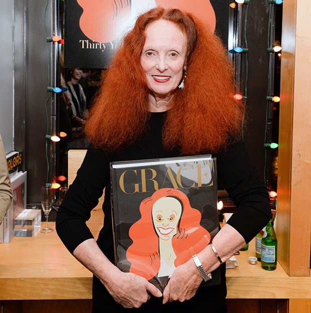 Grace Coddington with Grace: Thirty Years of Fashion at Bookmarc in New York