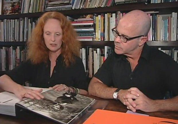 Grace Coddington with Phaidon commissioning editor