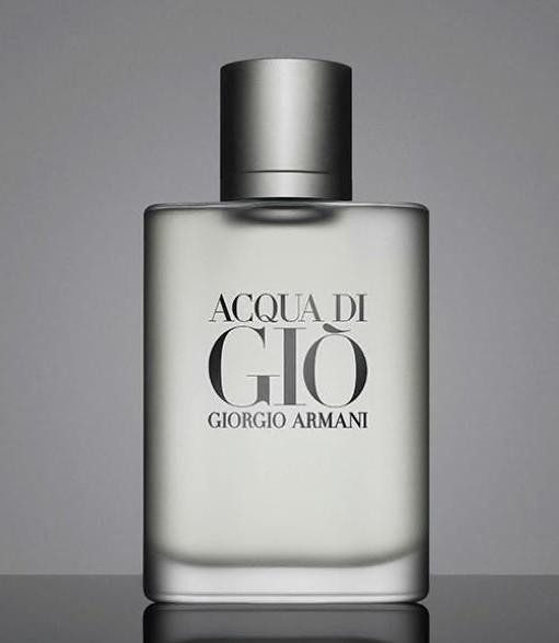 Giorgio Armani's Acqua di Giò, 1996, designed by Fabien Baron