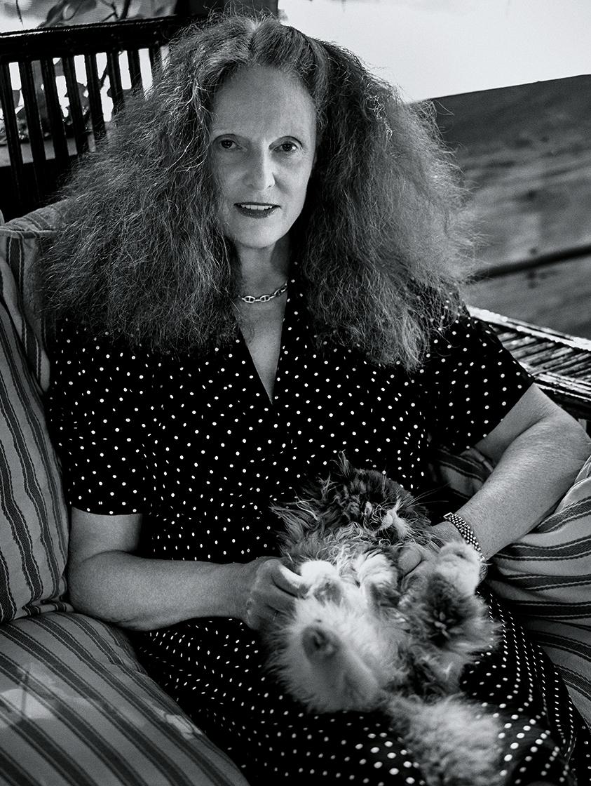 Grace Coddington, photograph by Fabien Baron