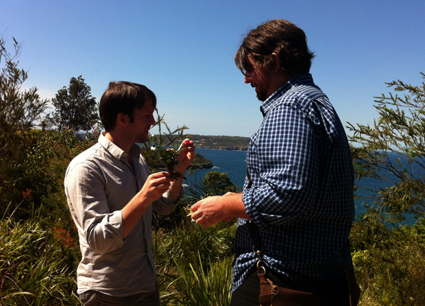 René Redzepi and Mike Eggert in Middle Head, North Shore, Sydney, Australia (2010)