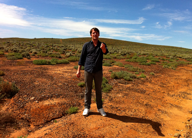 René Redzepi forages in Flinders Range in South Australia (2010)