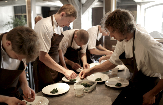Behind the scenes at Copenhagen's Noma restaurant